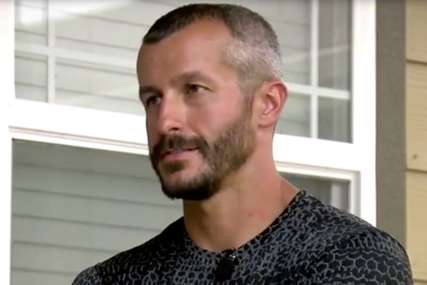 Chris Watts appears on the news appealing for information.