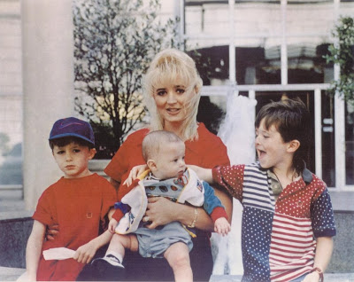 Darlie Routier with her boys - Damon, Drake and Devon.