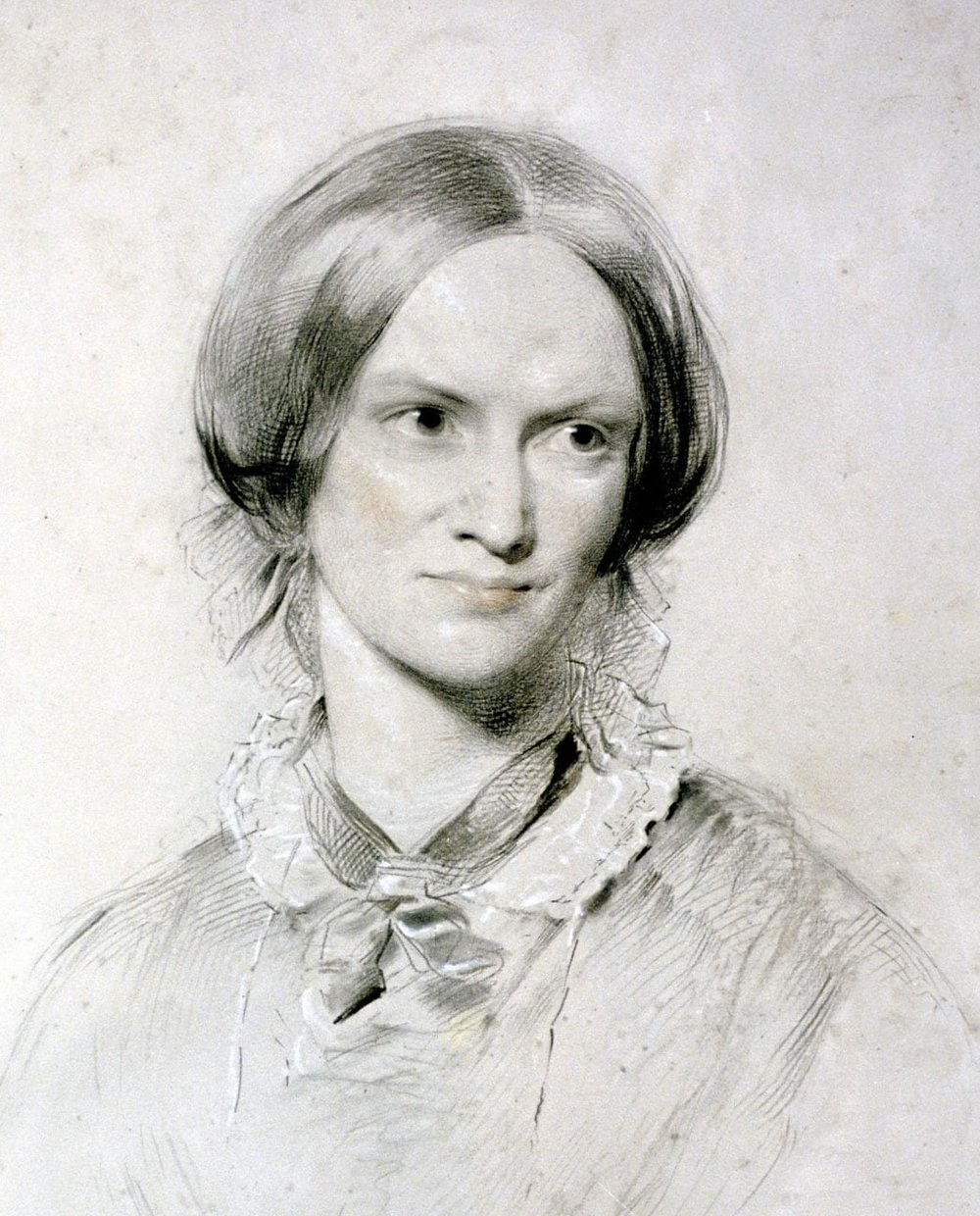 Portrait by George Richmond  (1850, chalk on paper)
