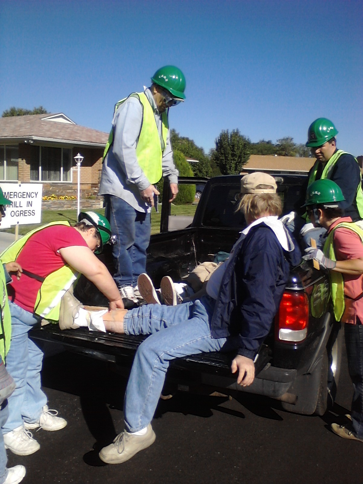 CERT Teams assist people before, during and after a disaster.