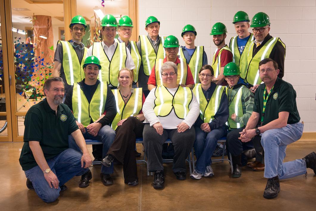 Salt Lake City CERT team photo.
