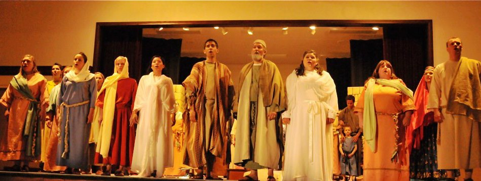 Cast of the Prodigal Son Musical