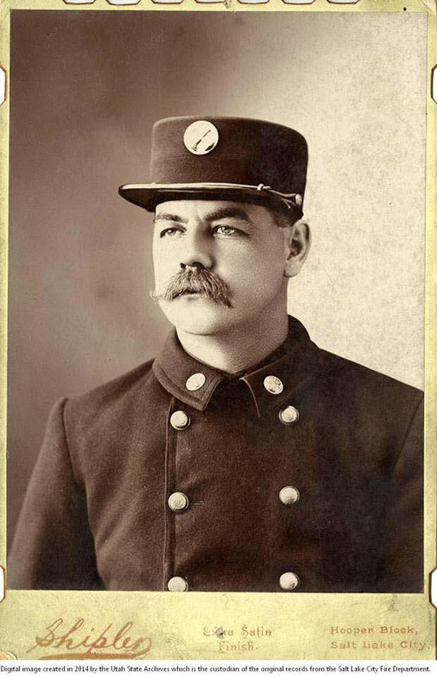 Captain Love - My great uncle with Salt Lake City Fire Department 1901