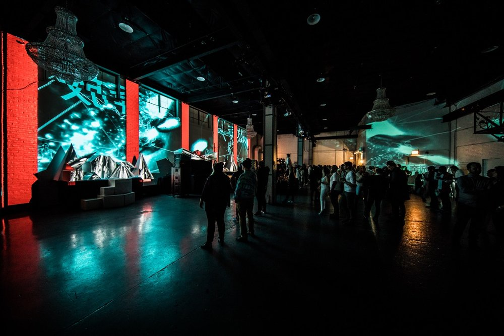 Immersive experiences. - Using the latest digital visual projection technology, video walls and interactive technology we create unforgettable works for a memorable and spectacular display to enhance your event.
