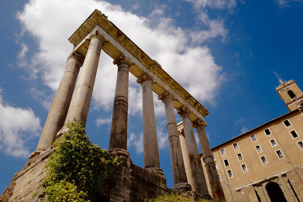 Temple of Saturn in the Roman Forum