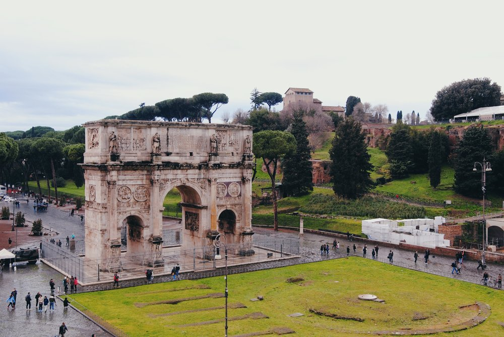 Arch of Constantine: Climb to the top of the Colosseum for a great view.