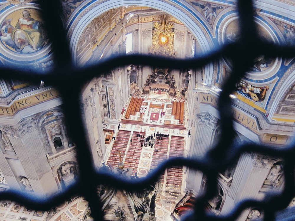 St. Peter's Basilica: View from the top (following climb)