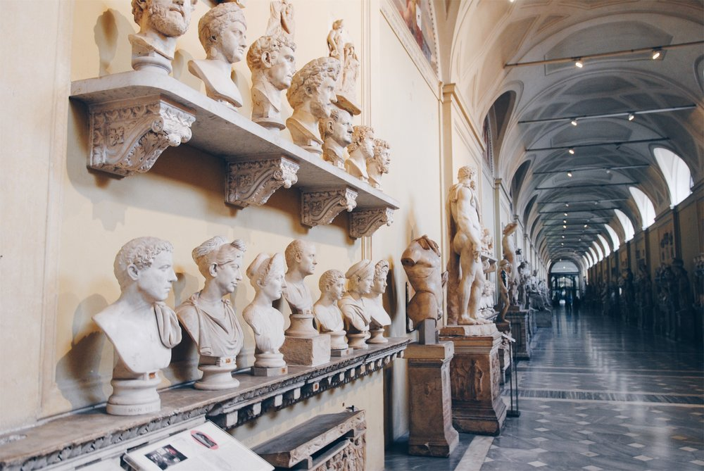 Vatican Museum: Hall of Busts