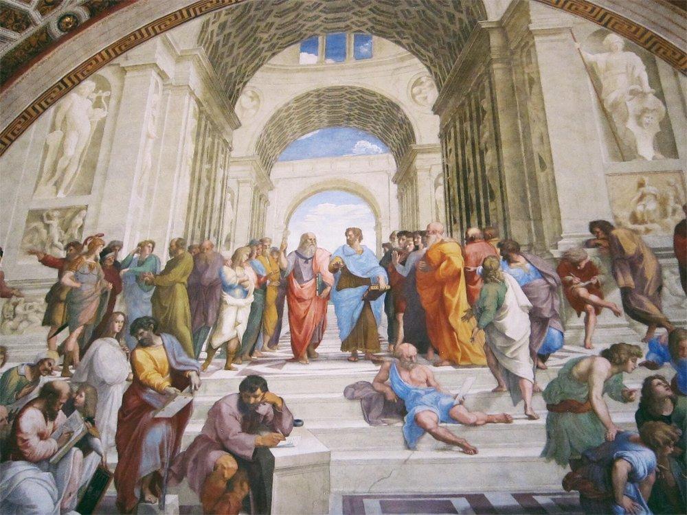 Raphael Rooms: School of Athens.