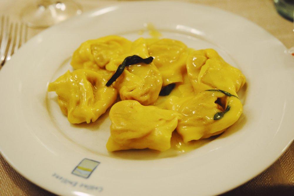 Colline Emiliane: Pumpkin Tortellini