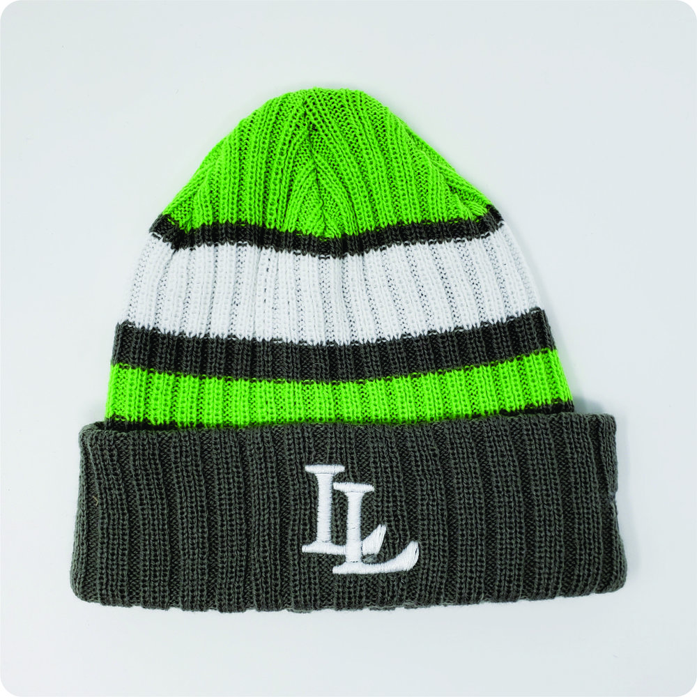 7c696322c5d215 New Era Ribbed Tailgate Beanie, Lynden Lions — Hats Off