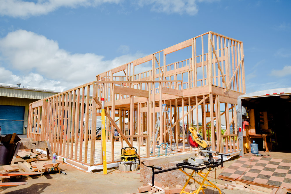 CR Design + Construction  |  Storefront — In Progress