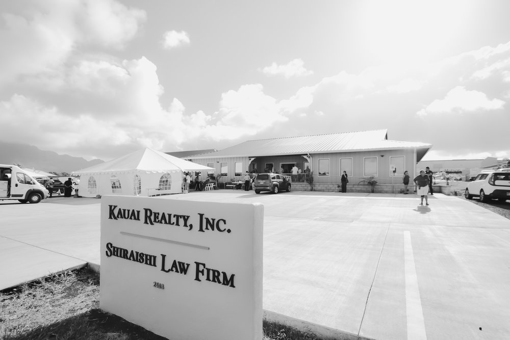 Kauai Realty  Commercial Build |  Streetfront