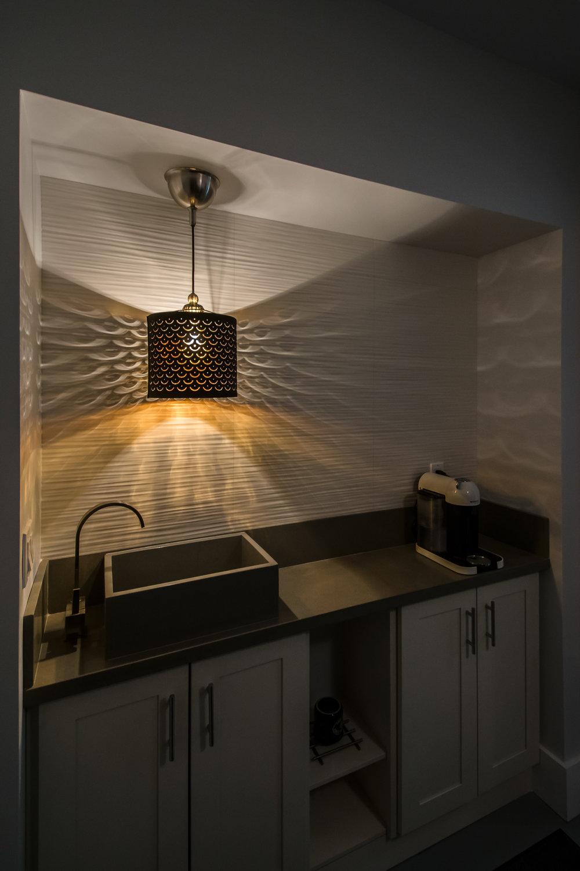 CR Design + Construction  |  Coffee Bar