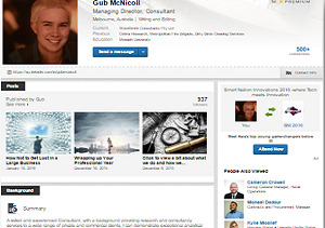 LinkedIn and Seek Profiles -