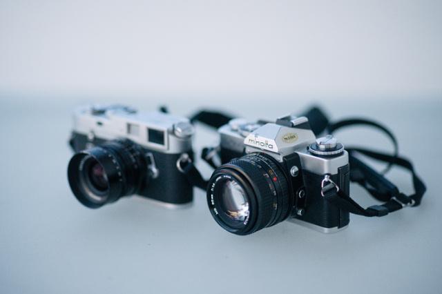 Leica M4 & Minolta XD-7