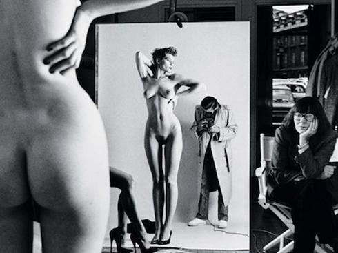 ο Helmut Newton και η Rolleiflex του