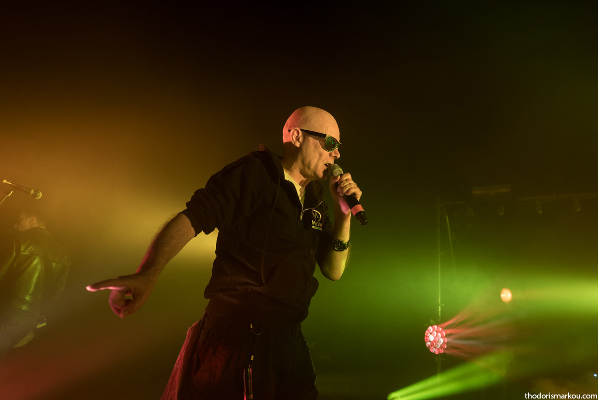 sisters of mercy | gazi music hall | 06/12/2015