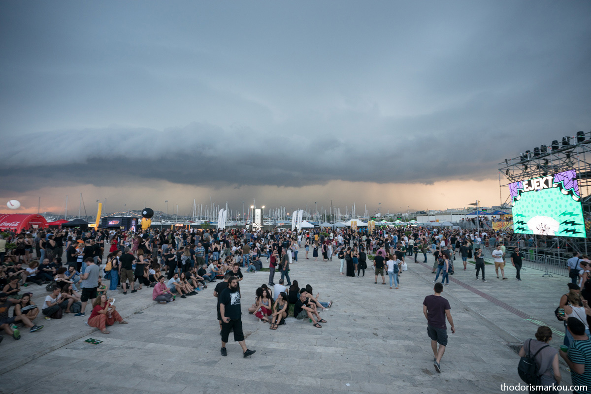 EJEKT Festival 2018: rain break