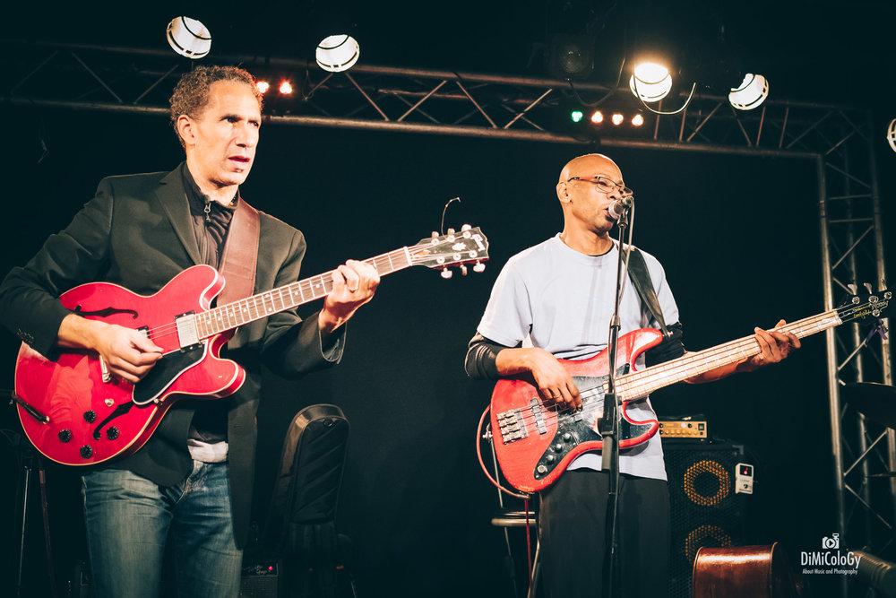 David Gilmore & Reggie Washington