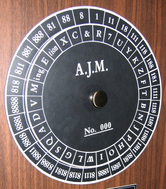 Union Cipher Disk