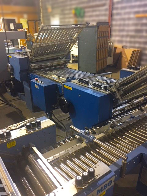 We have multiple folding lines that can run 24 hours.  - Poplar Bindery, Inc. can potentially turn a million PI's per day. Call or email to discover how we can help you.