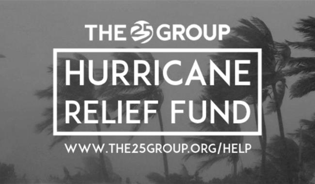 As part of our efforts, we began our own hurricane relief fund. Very soon people from all over the country had given over $45,000 towards the work!