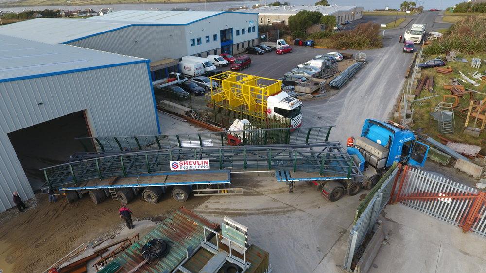 Camlin bridge leaving workshop.JPG