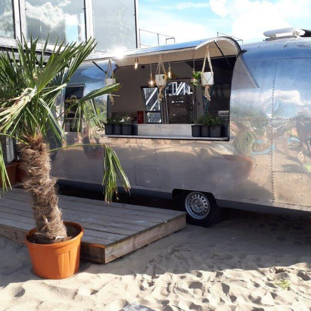 Foodtruck Airstream - Locatie naar wens