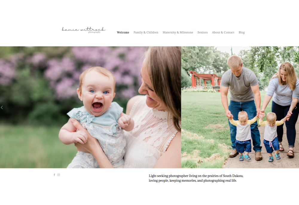 Kamie's new website is amazing! Click the image above to visit her site…