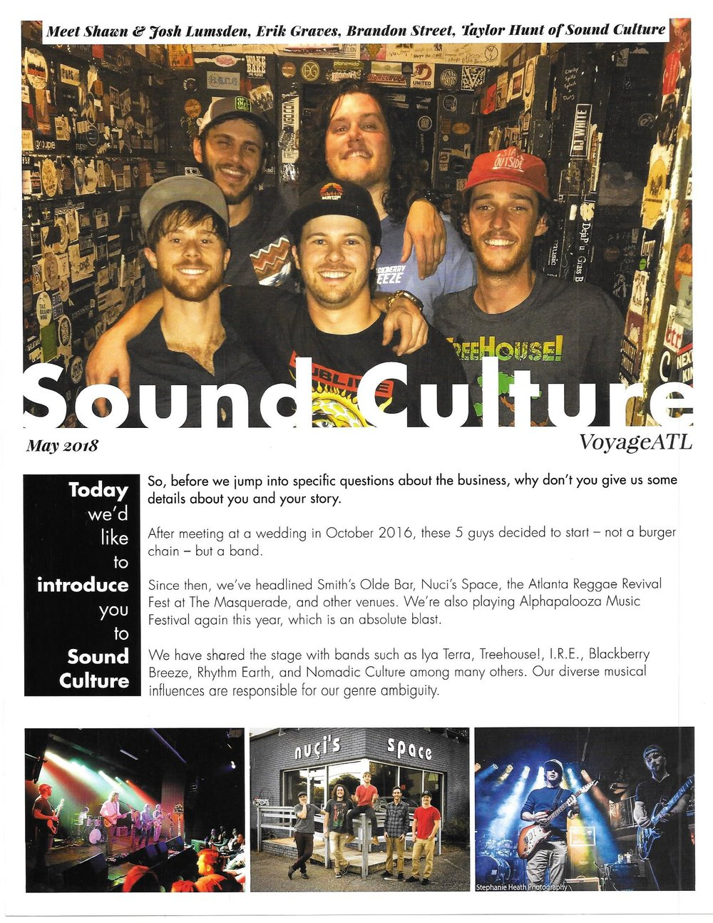 Voyage Interview with Sound Culture