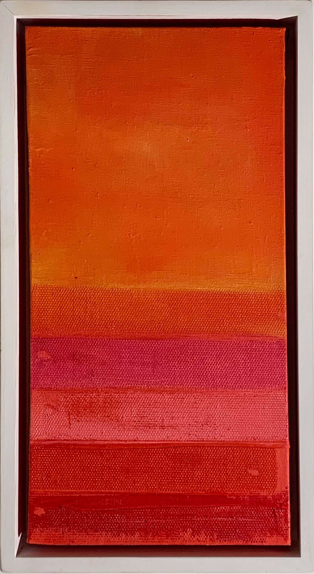 YELLOW SUNSET 24CM X 44 CM  FOR SALE
