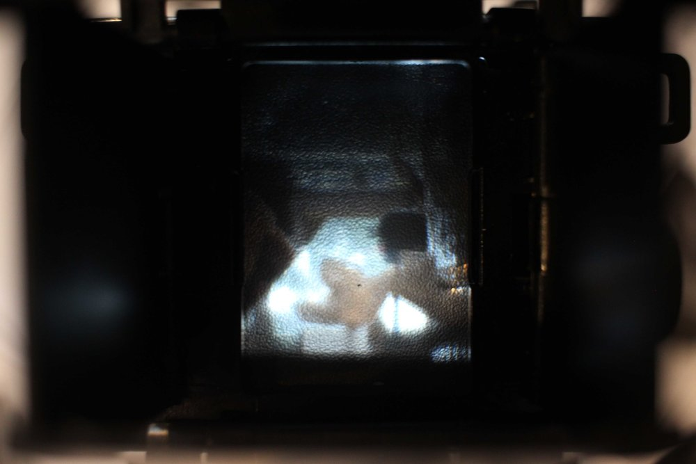 Image you see through the viewfinder.