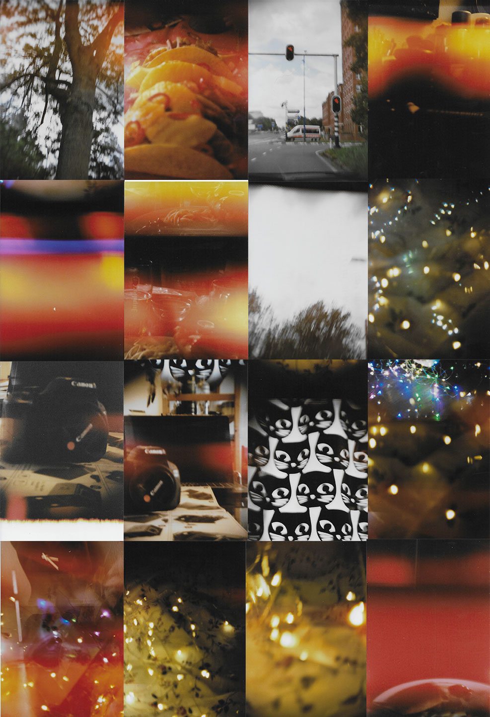 Collage of all 16 photos.