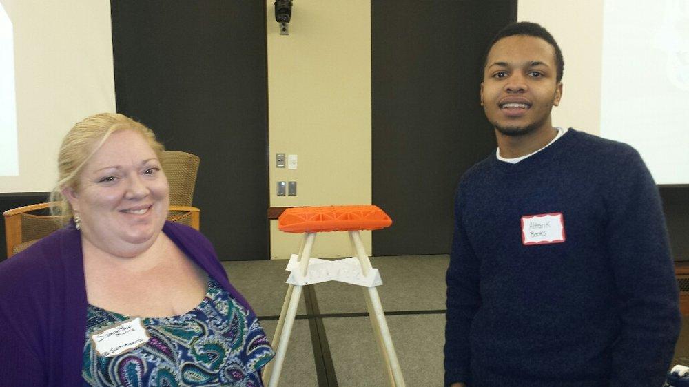 Altarik with stool winner Samantha Morra.jpg