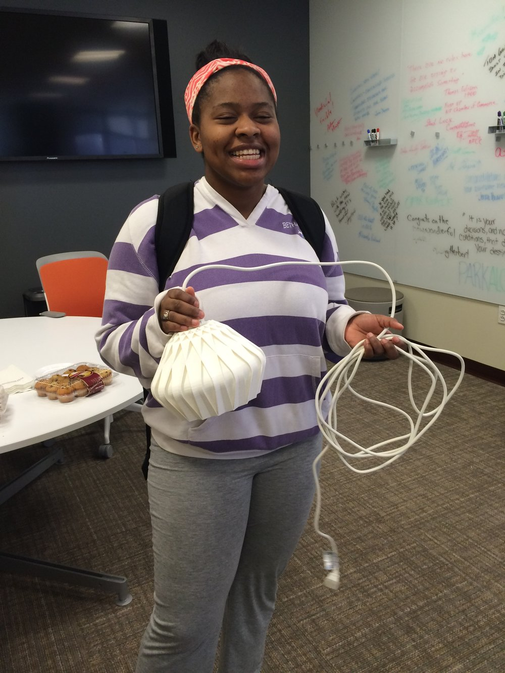 Student winner of 3D printed lamp.jpg