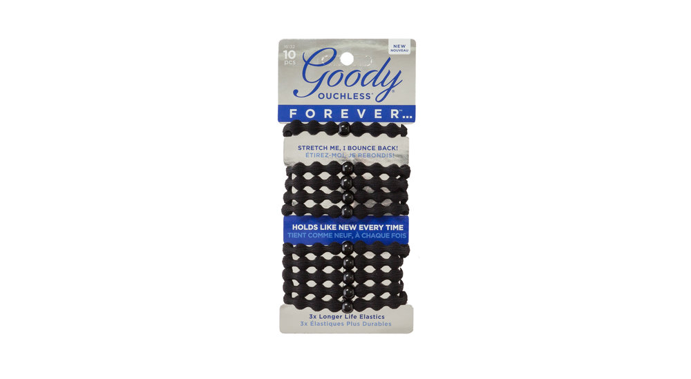 Goody Ouchless Forever Hair Elastics