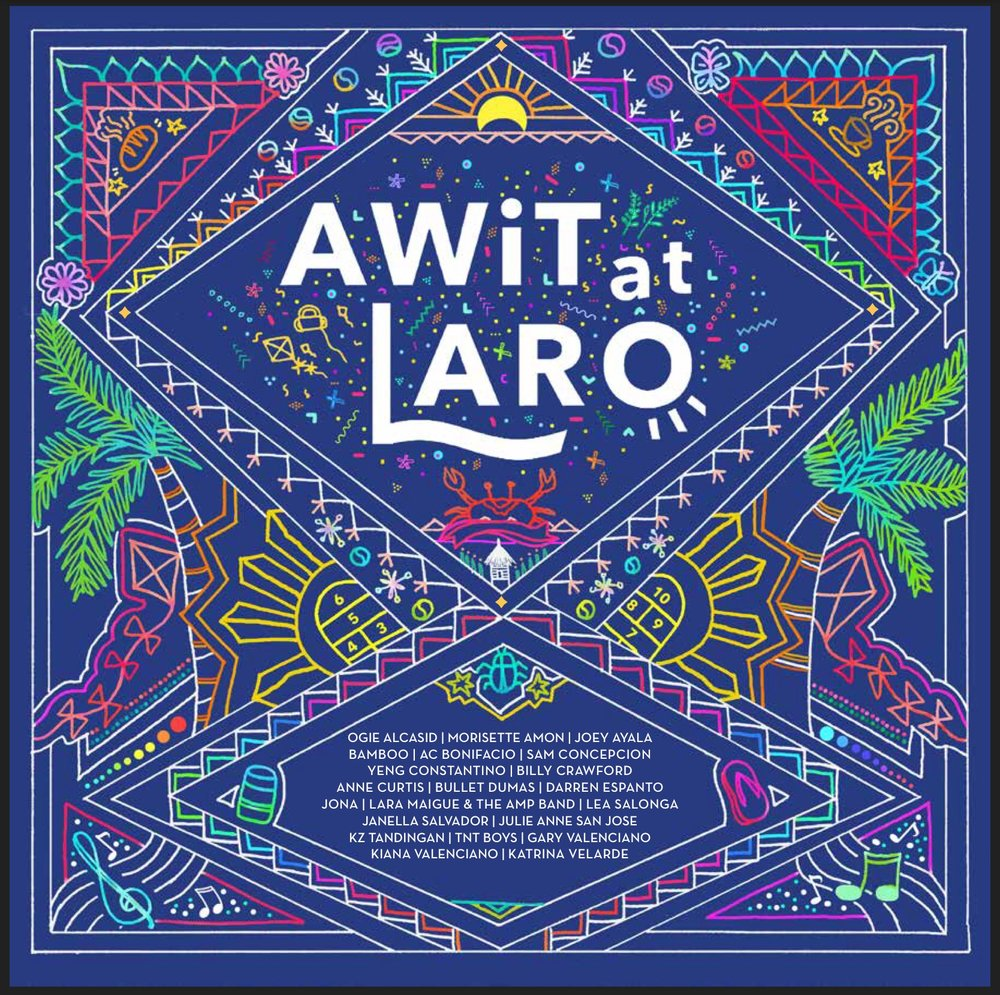 - The Awit at Laro album features a variety of songs produced by Gary Valenciano who has been working closely with top Filipino composers and singers. The album contains 9 reimagined traditional songs as well as 11 brand new songs about the games Filipinos have known and loved since childhood.