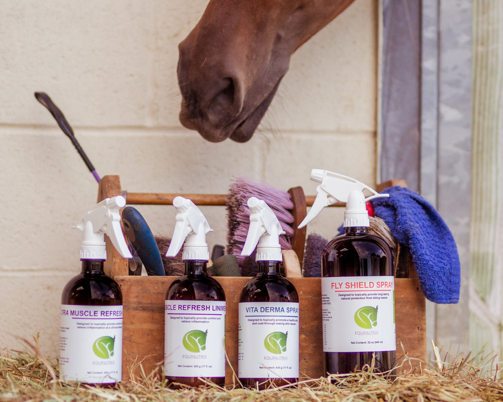 Scientifically Backed Solutions - Botanical formulas to nourish sensitive skin, repel biting insects and provide comfort to muscles and legs during competition and injury.