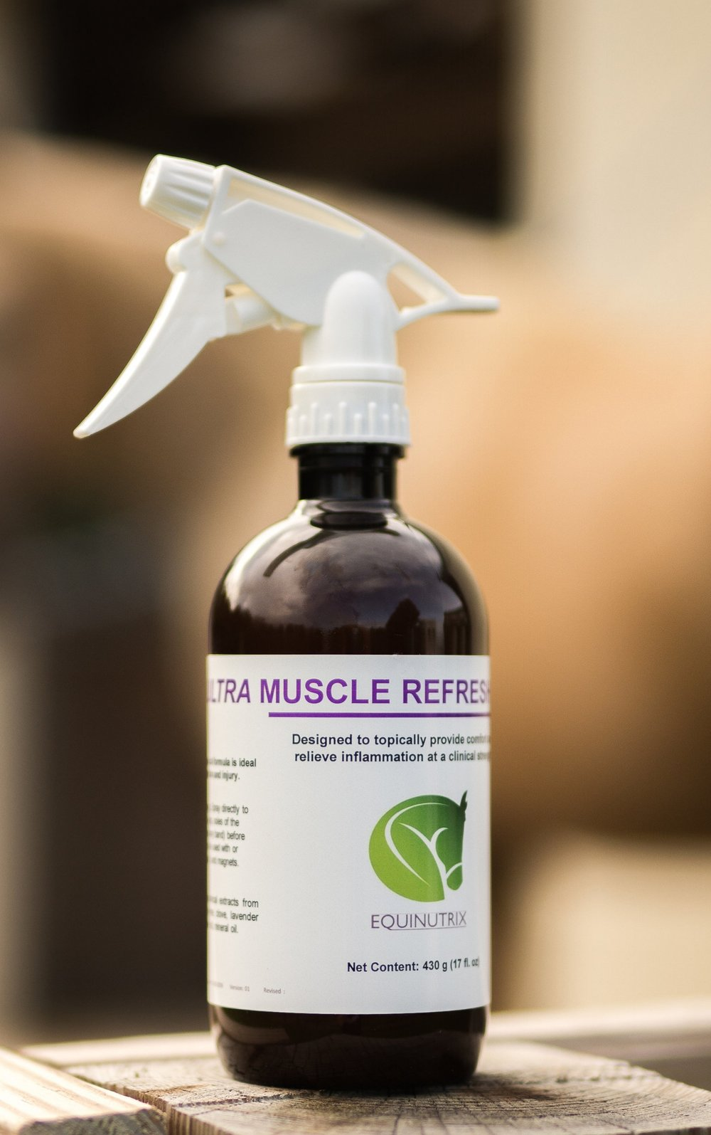 Ultra Muscle Refresh Liniment is ideal for injury, inflammation and after intense training or competition.