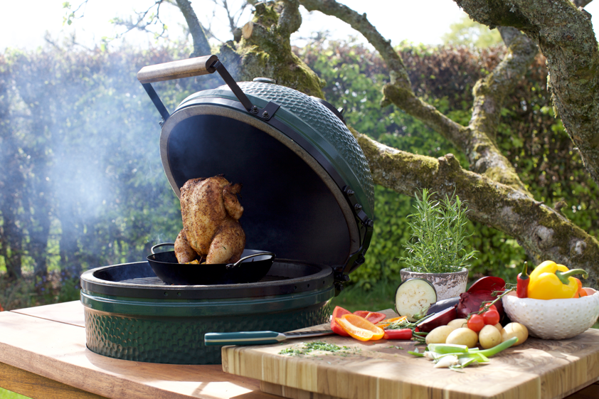 BIG GREEN EGG - Discover the ultimate outdoor cooking tool. Grill, bake, roast, smoke and more. Shop all sizes and egg-ccessories in store.