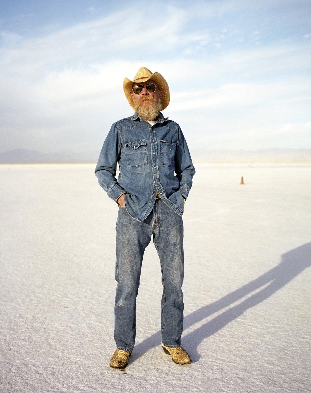 Zipper - Bonneville Salt Flats, Utah