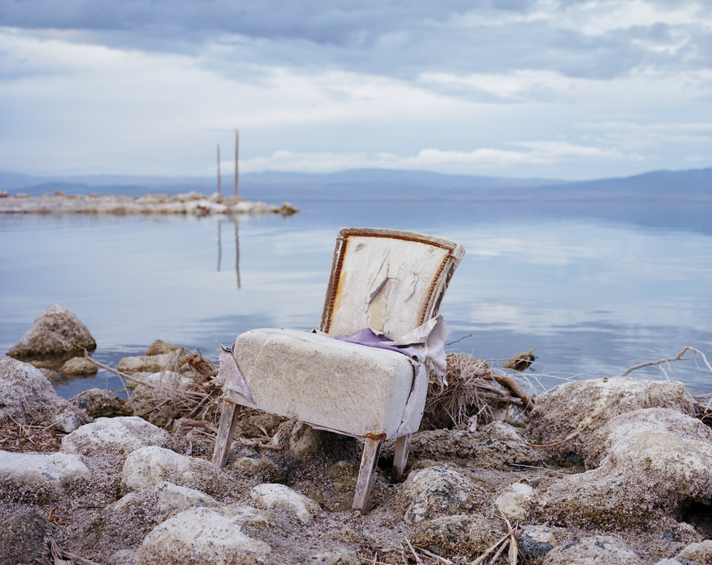 Salton Sea Beach, California