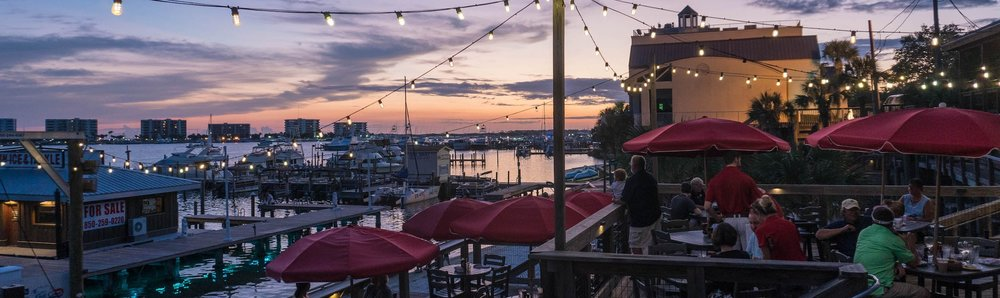 Waterfront Dining located on the beautiful Destin Harbor! -