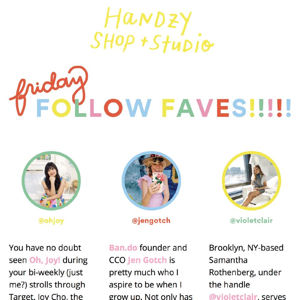 Handzy Blog