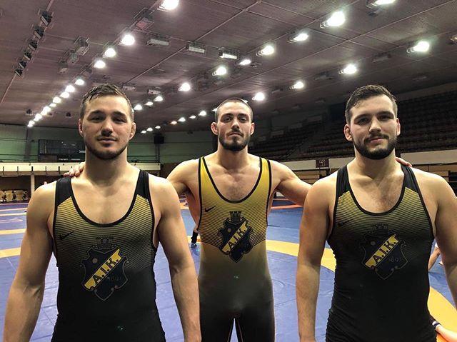 Tre brottare från AIK Brottning är för tillfället på träningsläger med det svenska landslaget i Budapest. Träningslägret har pågått sedan början av förra veckan och det avslutas med tävlingen Ungerns GP som avgörs denna helg #aikbrottning #aik