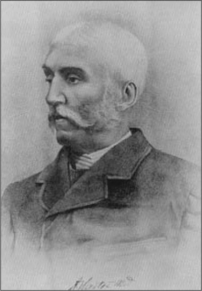 Self portrait of Henry Vandyke Carter