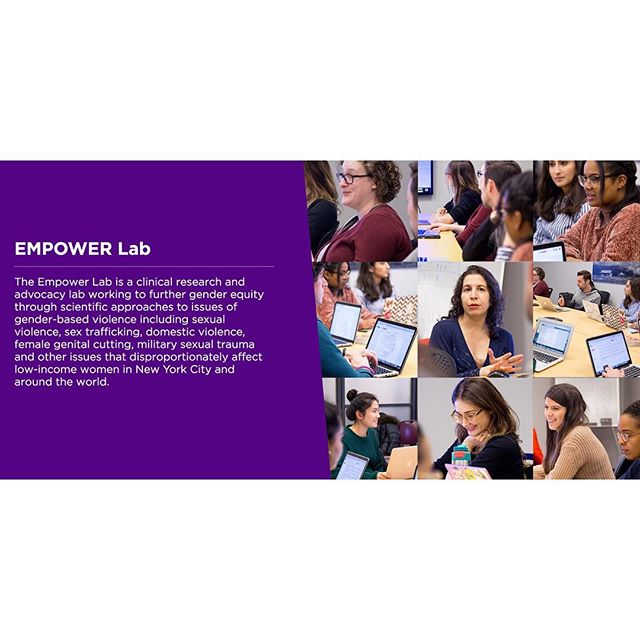NYU's College of Global Public Health (@nyugph ) just published a profile of our lab on their site. Click the link in our bio to check it out! #EmpowerLab