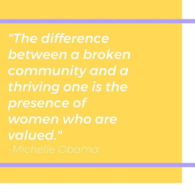 """Quote of the week // Check out our blog to read one of our lab member's reflection on attending Michelle Obama's """"Becoming"""" Tour earlier this month! #EmpowerLab"""