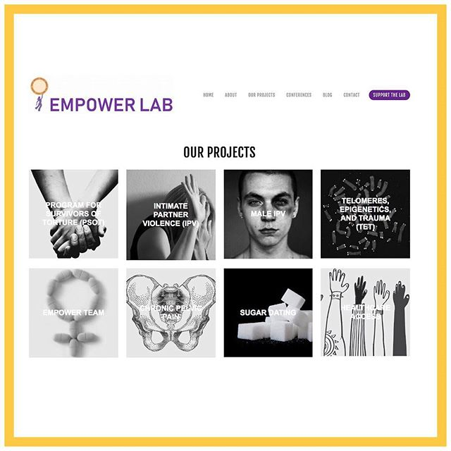 As 2018 comes to a close, we'd like to say thank you to all of our supporters- from those who've taken an interest in our blog, to those who've donated to the lab. Browse our website to read about our current projects & learn more about how you can support us in the New Year! #EmpowerLab